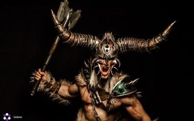 Lightning Cosplay - Babarian male-4