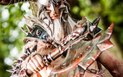 Lightning Cosplay - Babarian male-6