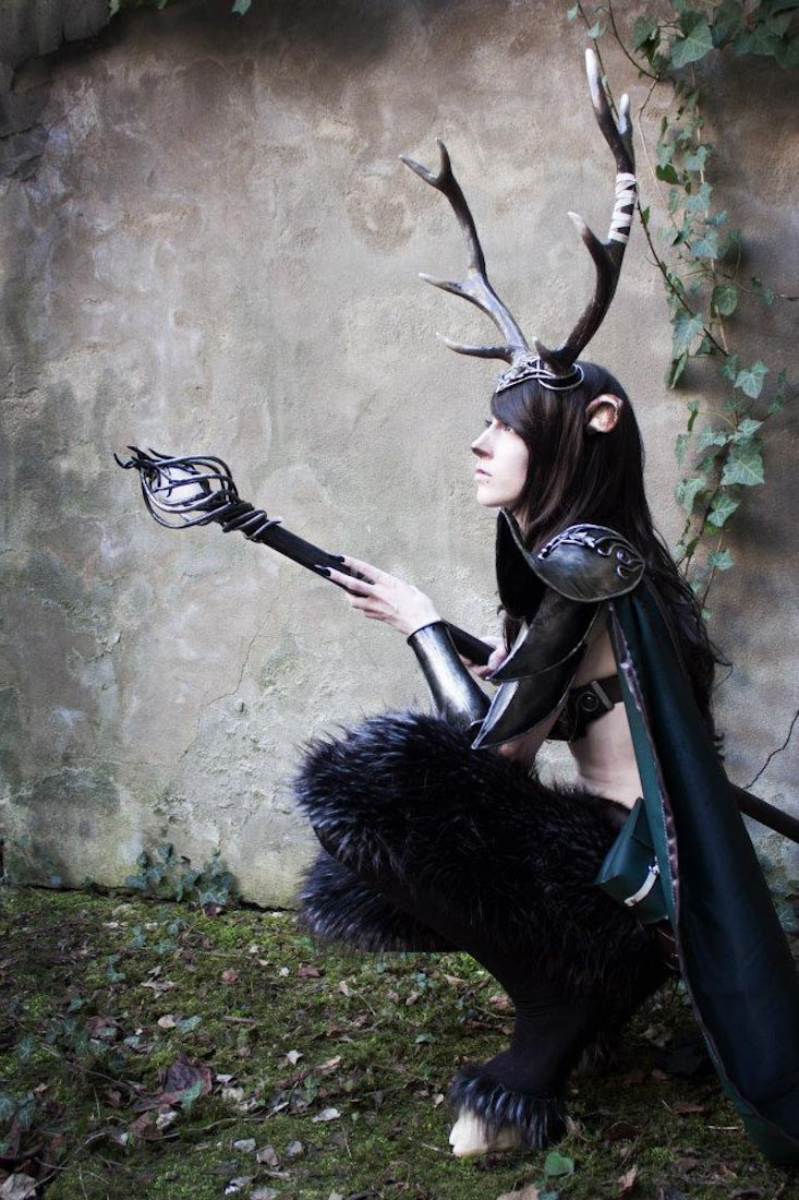 Warrior Faun Cosplay by emilyrosa on DeviantArt |Faun Cosplay