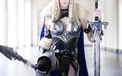 Lightning Cosplay - Valkyrie-5