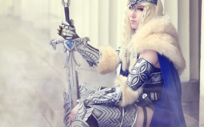 Lightning Cosplay - Valkyrie-6