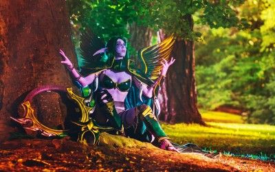 Lightning Cosplay - maiev shadowsong-2