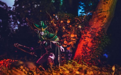 Lightning Cosplay - maiev shadowsong-3