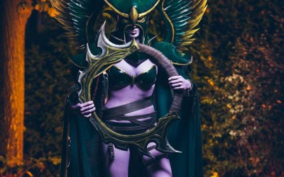 Lightning Cosplay - maiev shadowsong-4