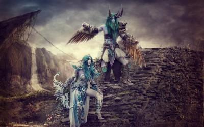 Malfurion and Tyrande