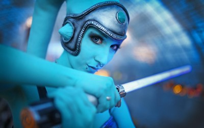 Lightning Cosplay - twilek