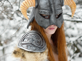 Dovahkiin Lightning Cosplay