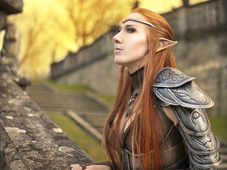 The Elder Scrolls Online Lightning Cosplay