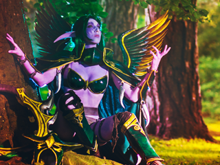 Maiev Shadowsong Lightning Cosplay