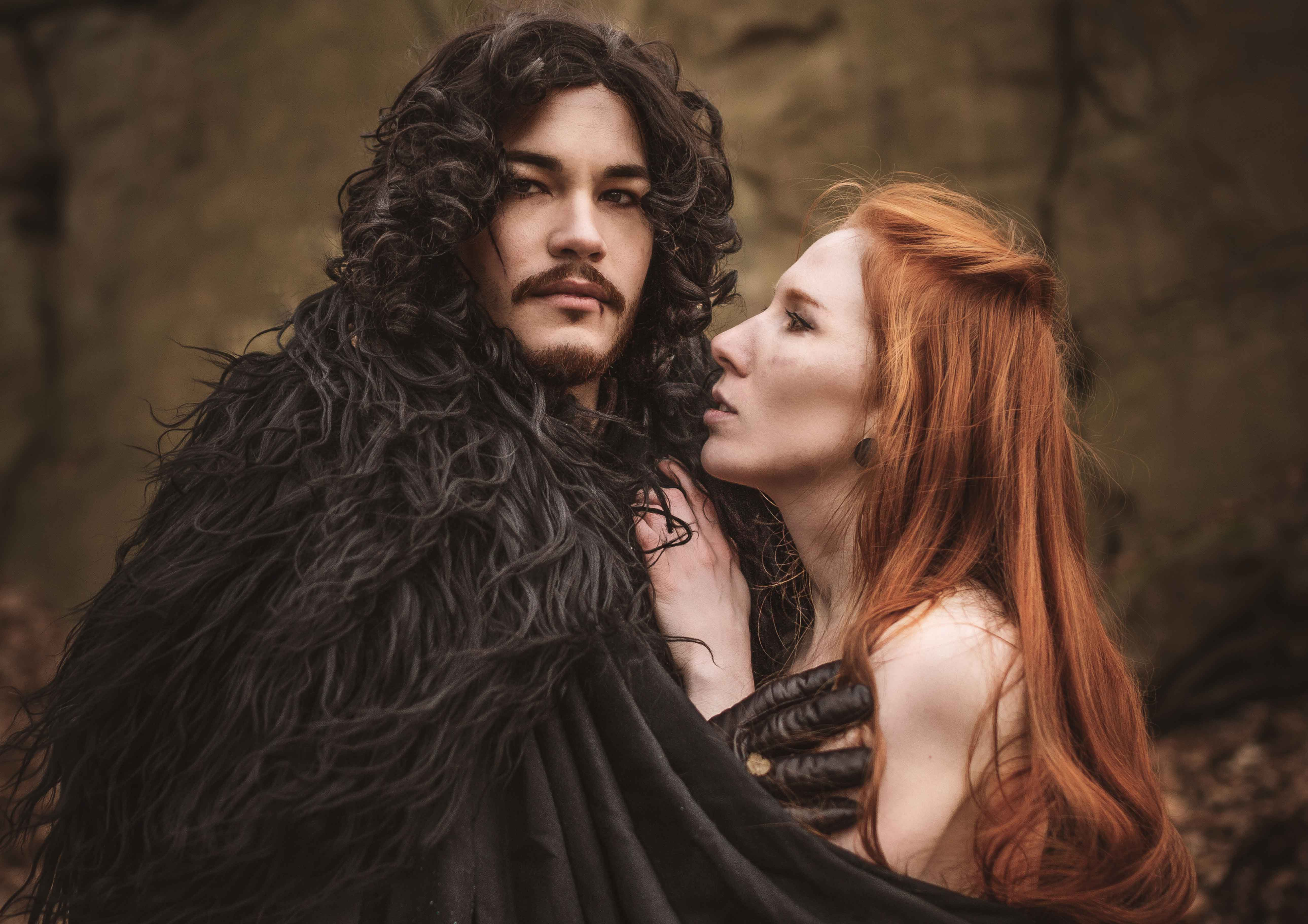 Ygritte and Jon Lightning Cosplay