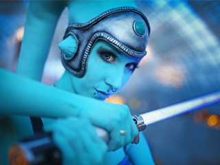 Twilek Lightning Cosplay