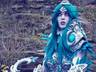 Tyrande Lightning Cosplay