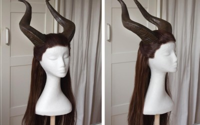 Horns and Wig
