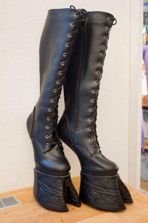 Hoof Boots Faun Shoes Size 6 9 Us 37 40eu Black