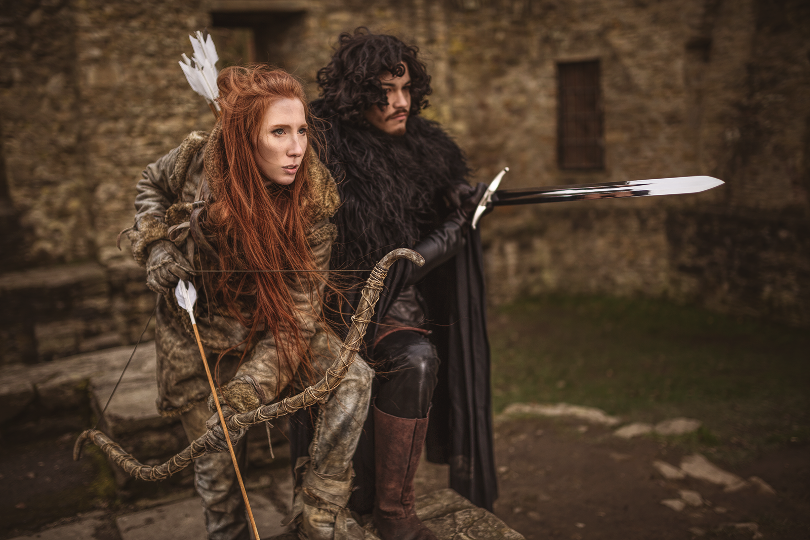 Ygritte and Jon Photoshoot