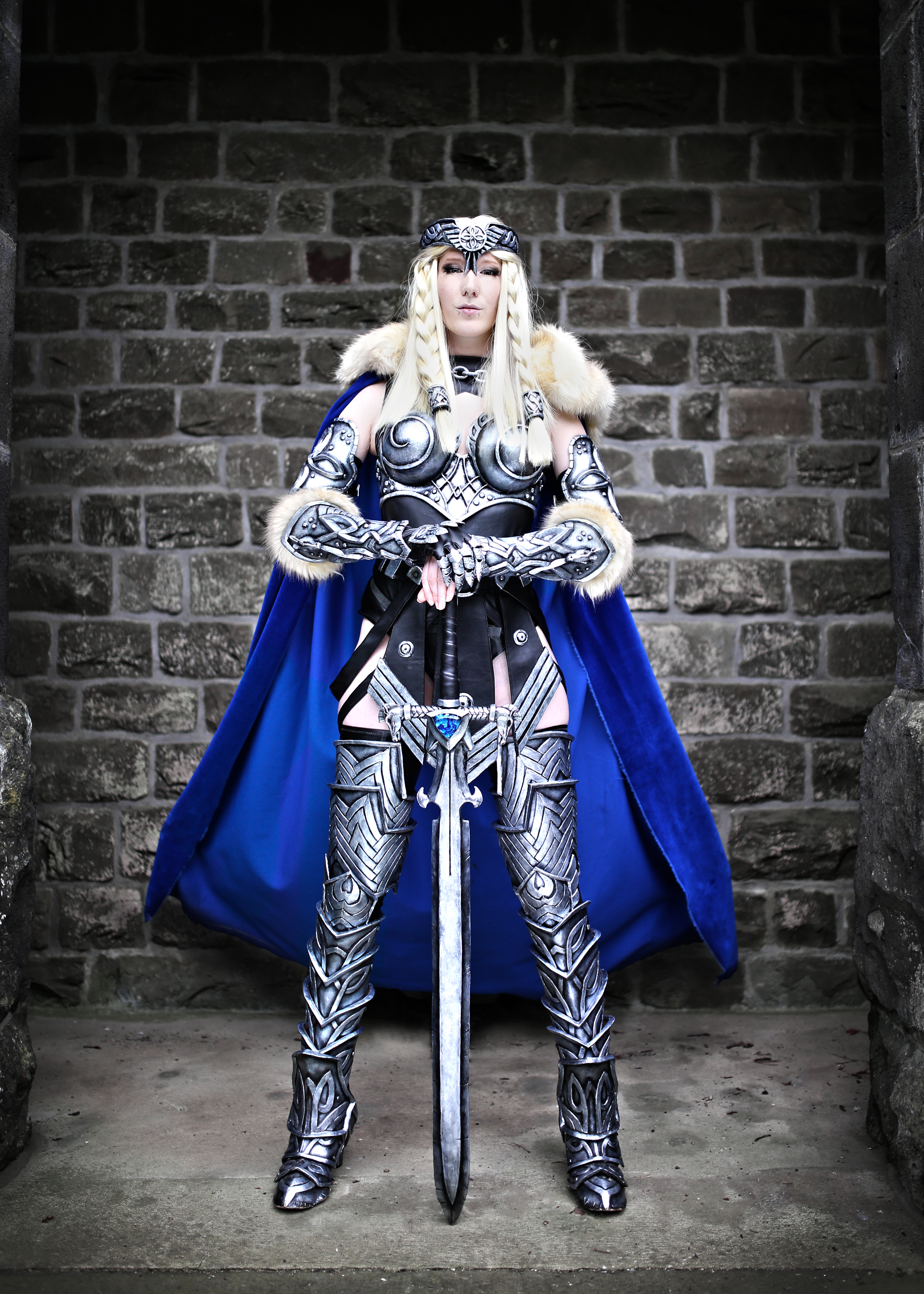 No, its not in-game, this is Lightning cosplay
