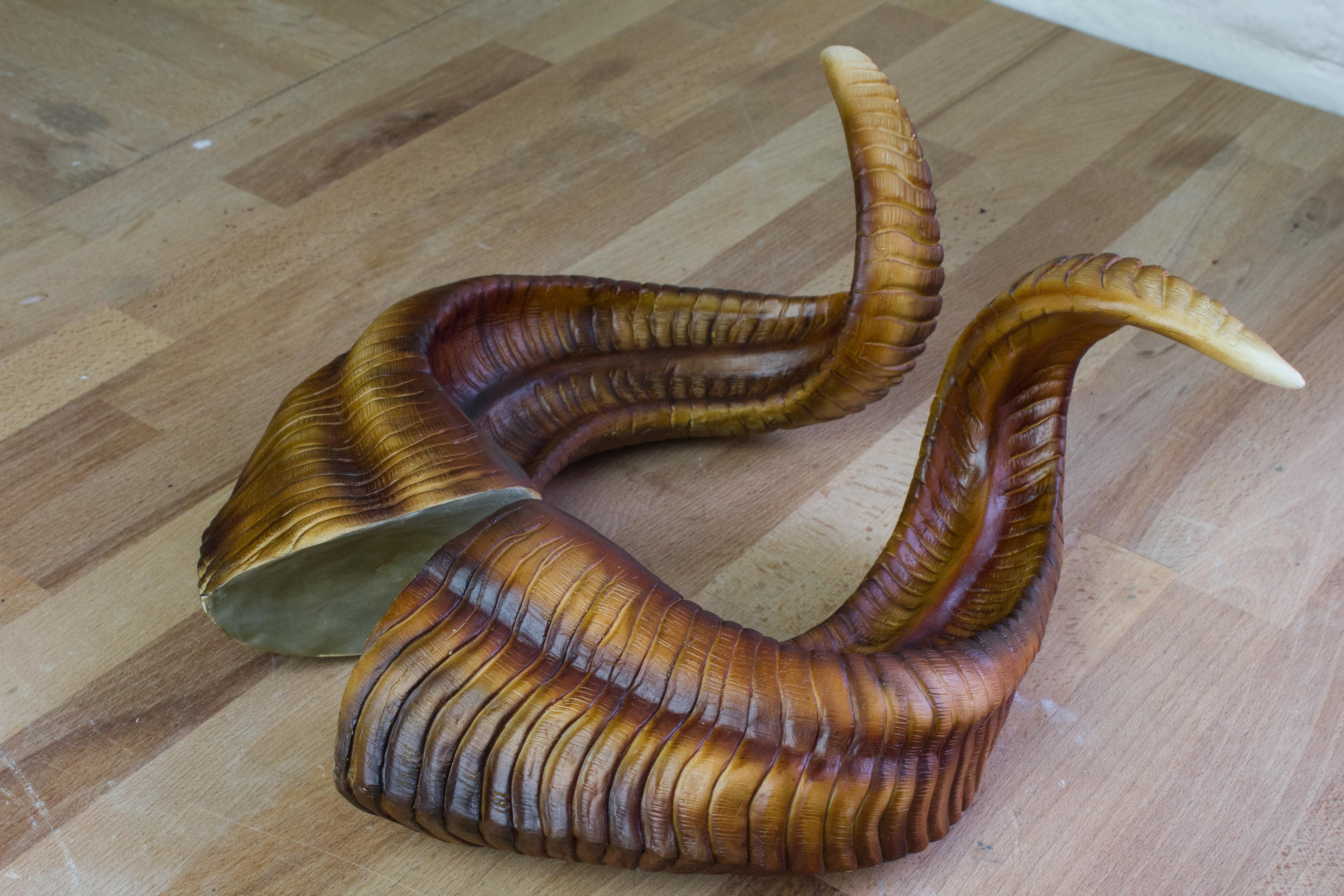 2016 Ram Accessories >> Big Ram Horns | Handmade | Color: Honey | Lightning Cosplay