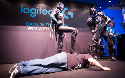 Walking Act for Logitech Gamescom