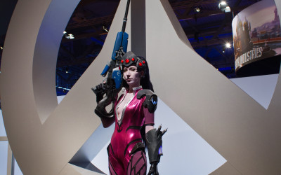 Overwatch Walking Act Gamescom
