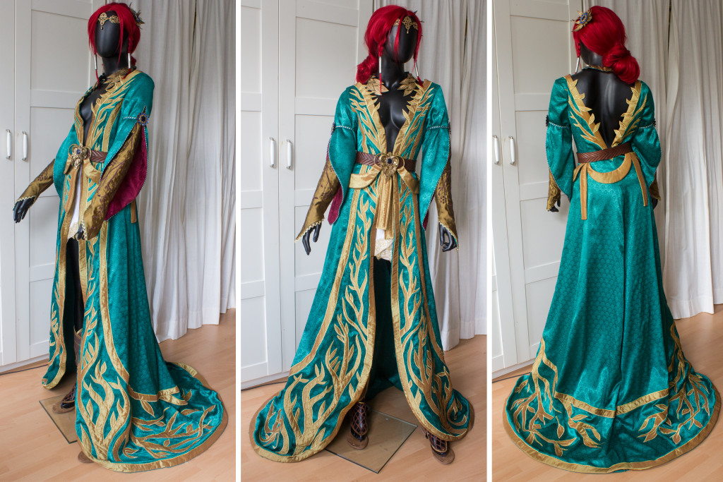 Triss Merigold Alternate Costume Lightning Cosplay