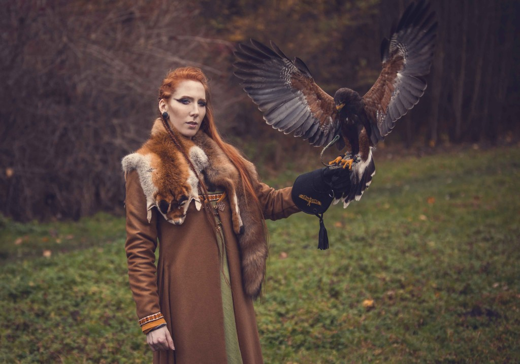 viking falcon female costume