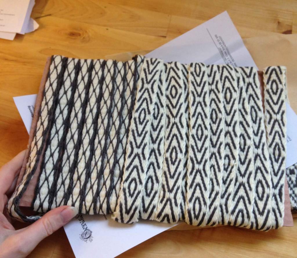 tablet weaving braids