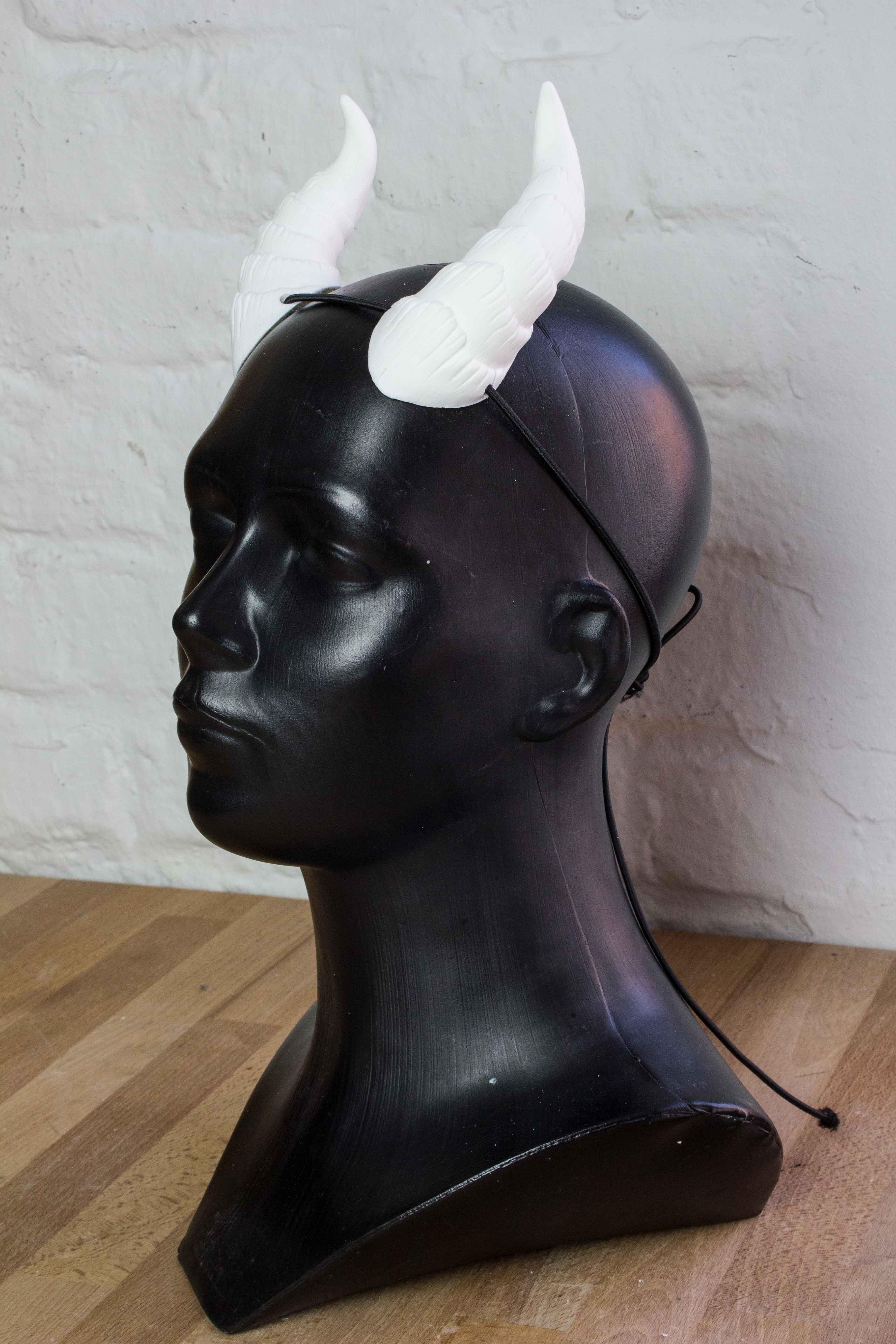 Small Demon Horns Custom Color Handmade Lightning