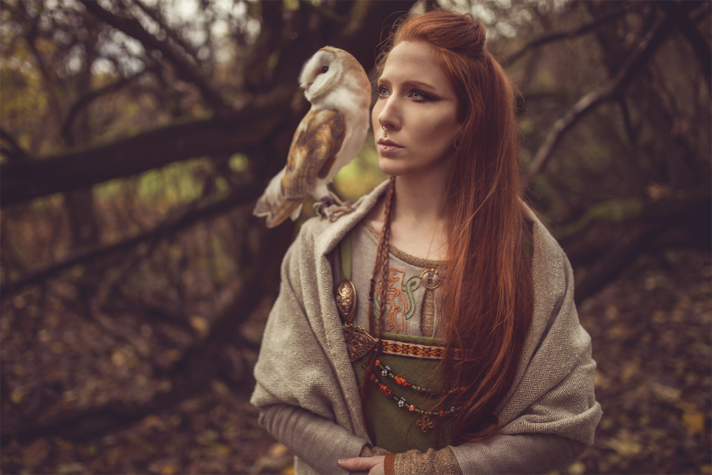 viking costume female owl