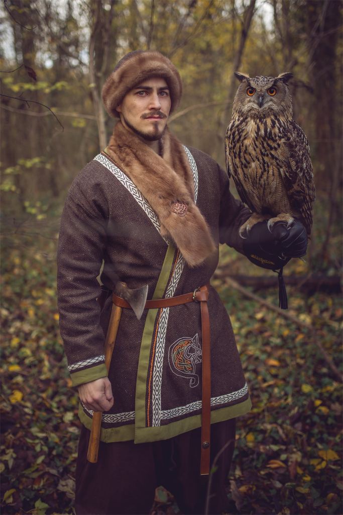 viking costume owl