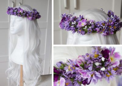 fairy flower dress headpiece