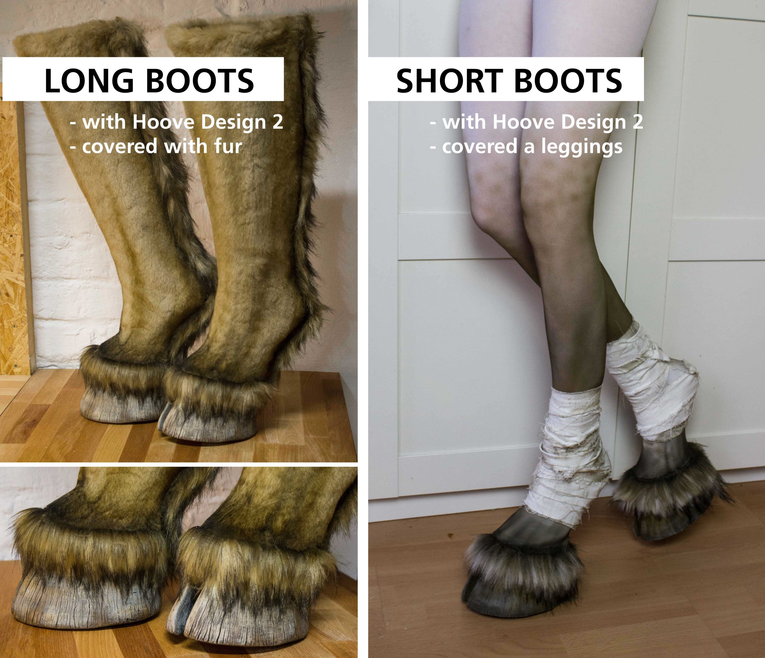 Hoof Boots   Faun Boots   Size 6-8 US