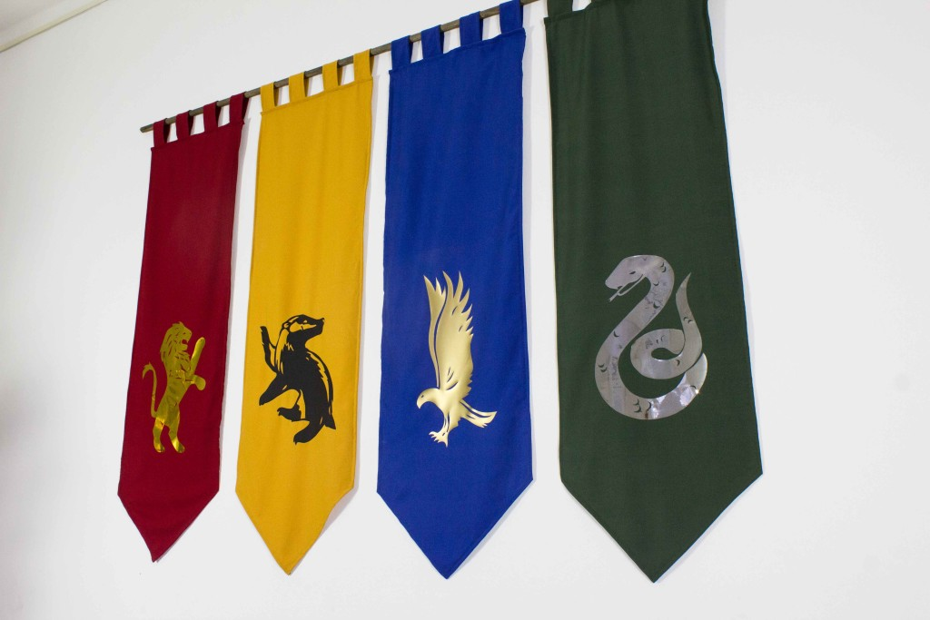 Hogwarts House Banner DIY
