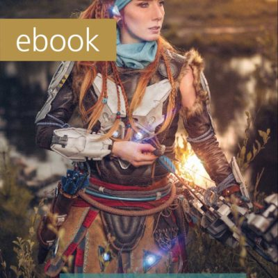 New Lights Cosplay LED Book