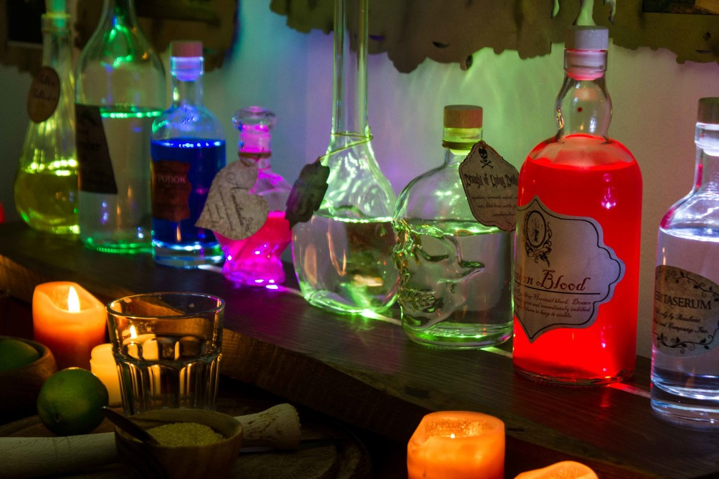 Hogwarts Potion Bar harry potter Potions