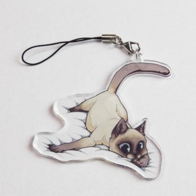 Cat Keychain Emily