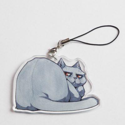 Cat Keychain Föti