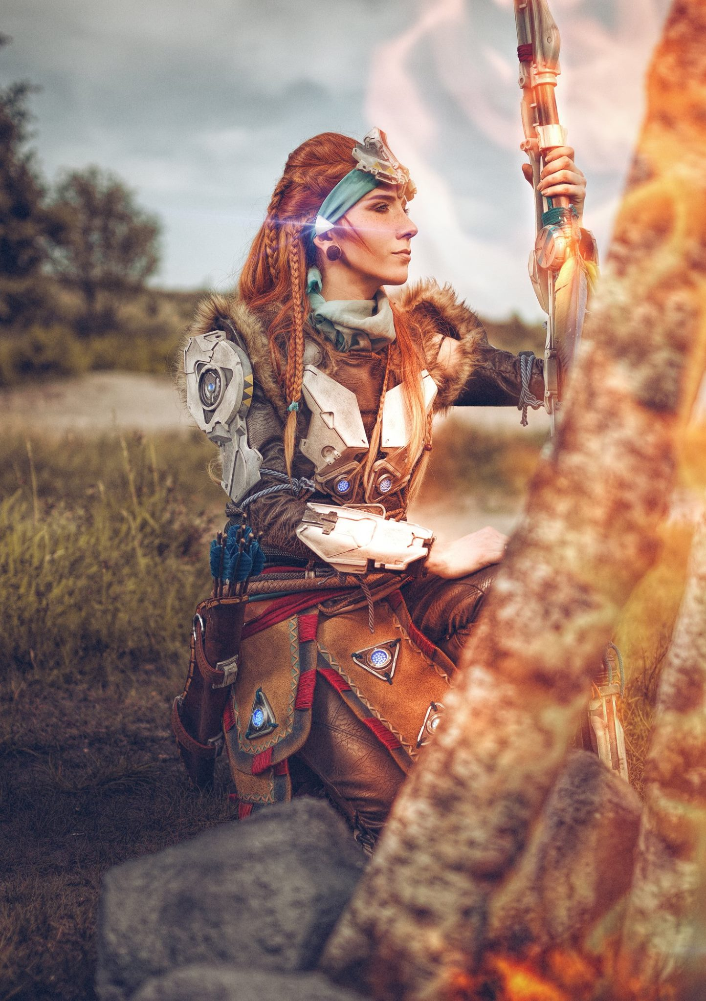 Aloy Cosplay Lightning Cosplay
