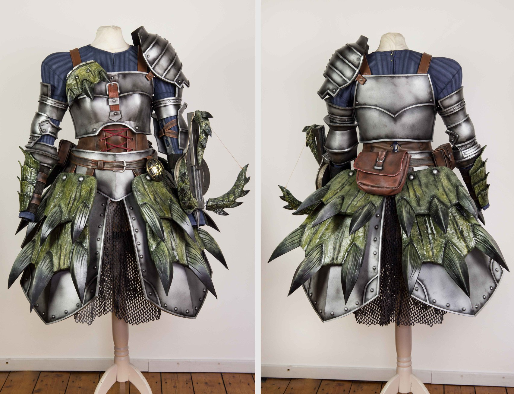 monster hunter armor cosplay