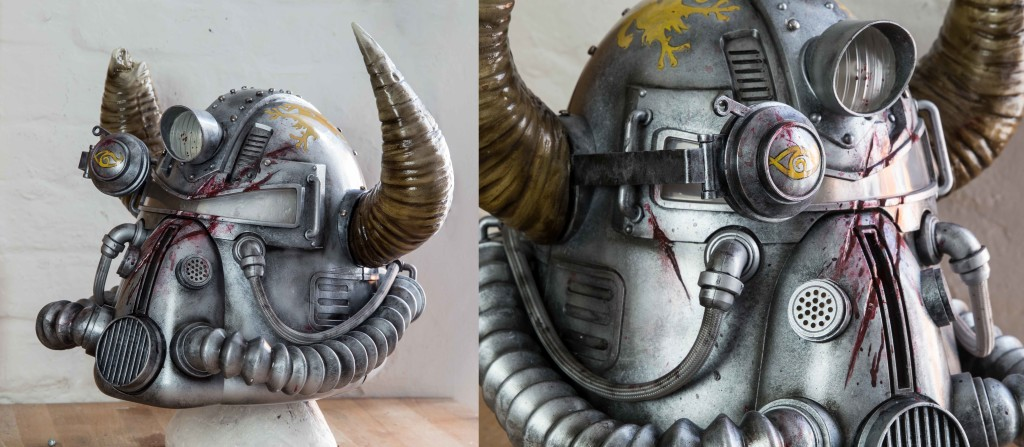 Fallout 76 Helmet Painting