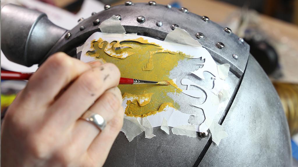 Helmet Painting