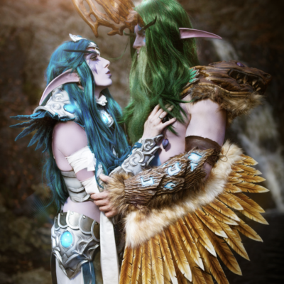 Malfurion and Tyrande Cosplay