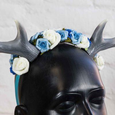 headdress-small-antler-blue