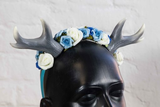 headdress-small-antler-blue