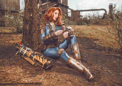 Fallout Cosplay Vault Suit